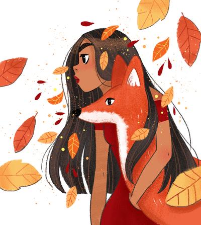 fall-leaves-autumn-girl-fox-savage-jpg