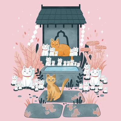 japan-manekineko-cat-temple-plant-jpg