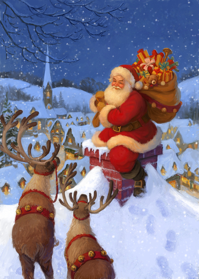 85108-santa-and-reindeer-at-chimney-jpg