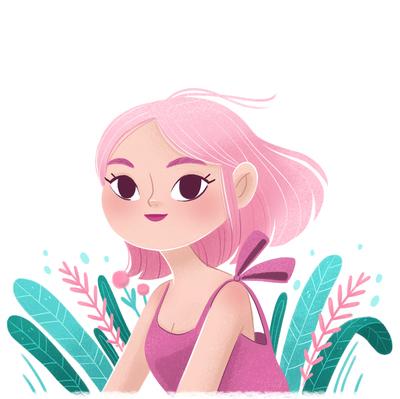 pink-hair-girl