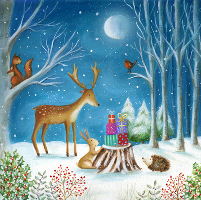 christmas-woodland-squirrel-reindeer-hedgehog-rabbit-moon-snow-jpg