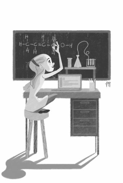 girl-studing-science-school-education