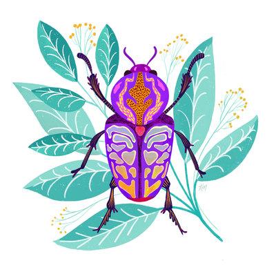 beetle-bugs-florals-pattern-jpg