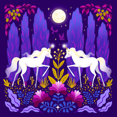 unicorn-animals-night-pattern-flowers-jpg