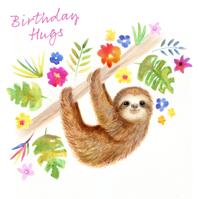 birthday-sloth-flower-palm-leaves-jpg