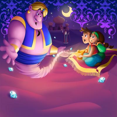aladdin-magiclamp-genie-jasmine-png