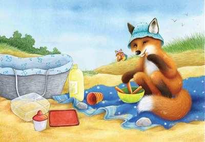fox-cub-on-beach-gailyerrill-watercolour-soft-cute-jpg