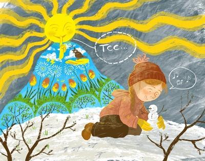 spring-sun-girl-winter-snowman-jpeg