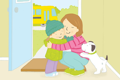claire-keay-cuddle-mum-girl-school-bus-jpg