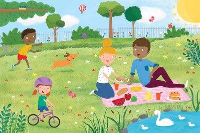 picnic-scene