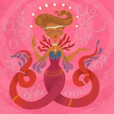 mermaid-queen