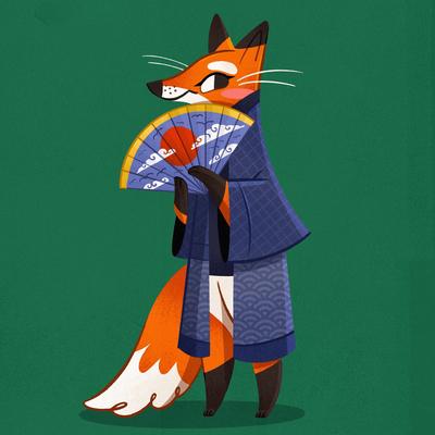 fox-japan-fan-animal-jpg