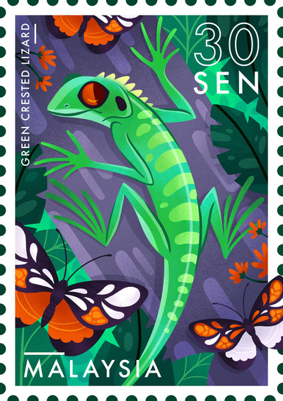 lizard-stamp-malaysia-jungle-jpg