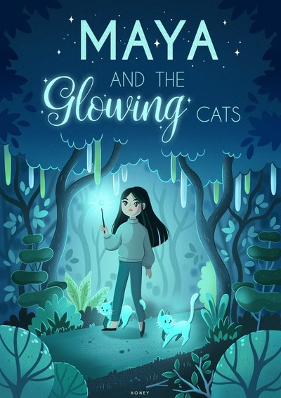 maya-and-the-glowing-cats