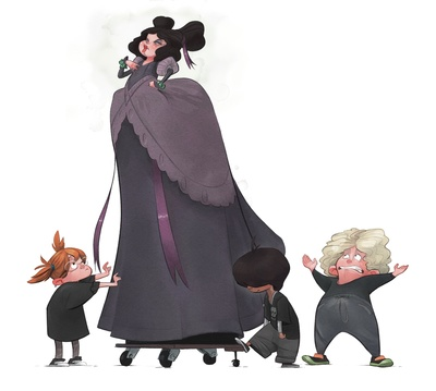 braden-hallett-evil-stepmother-costume-theatre-tall-boy-girl-colour-spot-illustration-jpg