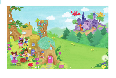 fairy-magic-village-dragons-melanie-mitchell-jpg