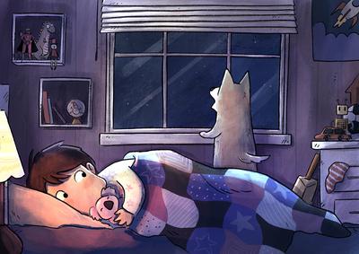 bushfire-boy-dog-bark-night-room-jpg