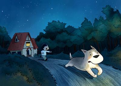 bushfire-woods-boy-dog-run-jpg