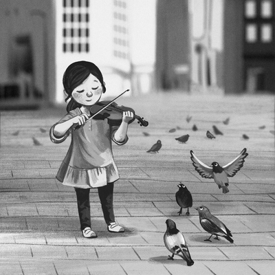 violin-music-pigeon-city-monochrome-jpg