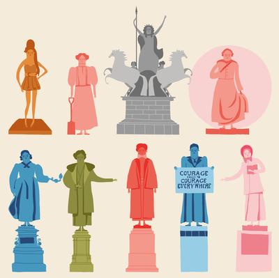 female-statues