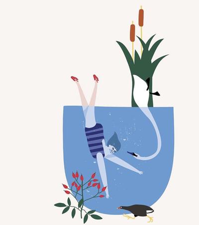 iris-swam-in-the-pond-everyday