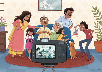 family-group-photo-indian-camera-father-mother-grandparents-boy-girl-children-dog-new-jpg