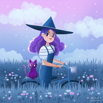 witch-and-her-cat