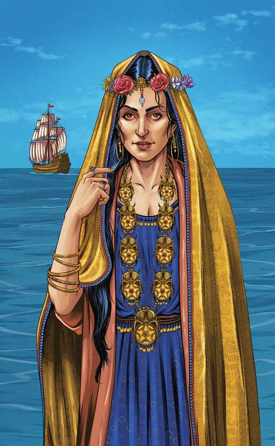 esmith-llewellynpoetarot12-woman-landscape-tarot-literature-jpg