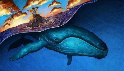 esmith-magicstew-animals-whales-sunset-landscape-texture-jpg
