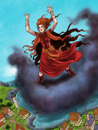 esmith-howls3-fantasy-childrensbook-landscape-woman-jpg