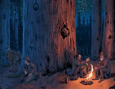 esmith-laz1-history-camping-teddyroosevelt-johnmuir-nature-comicbook-jpg