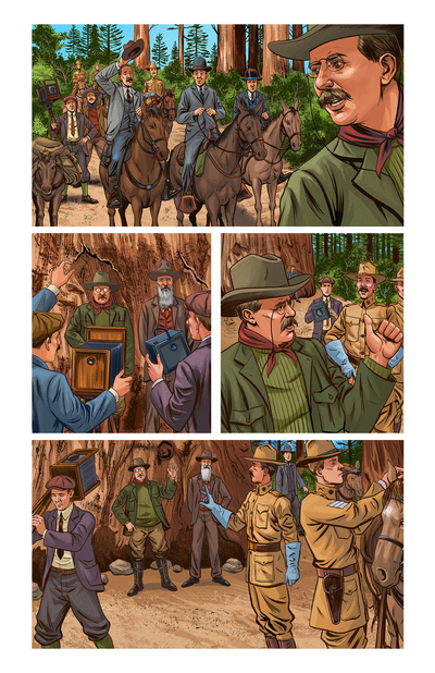 esmith-laz5-history-animals-horses-nature-teddyroosevelt-johnmuir-people-comicbook-jpg