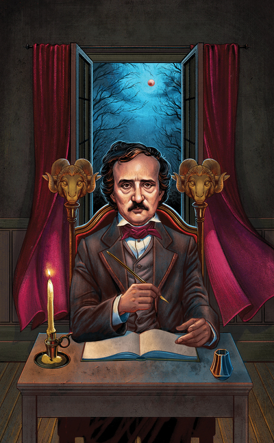 esmith-llewellynpoetarot-edgarallanpoe-tarot-literature-jpg