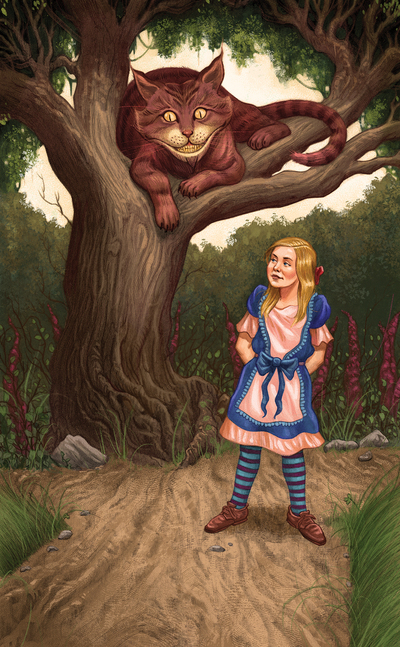 esmith-llewellynwonderland2-aliceinwonderland-cheshirecat-childrensbook-tarot-nature-animals-literature-jpg
