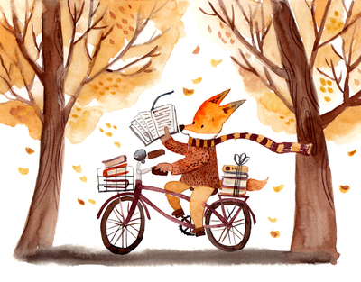 autumn-leaves-fox-bike-reading-book-jpg