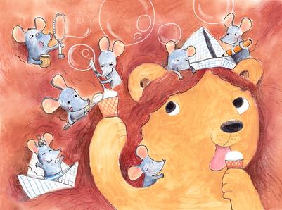 mice-summer-icecream-lion-friends-jpg