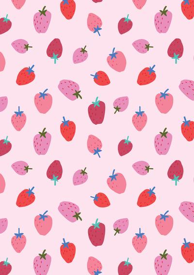 ap-strawberry-pattern-design-summer-fruit-food