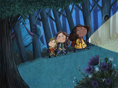 forest-night-monster-kids-jpg