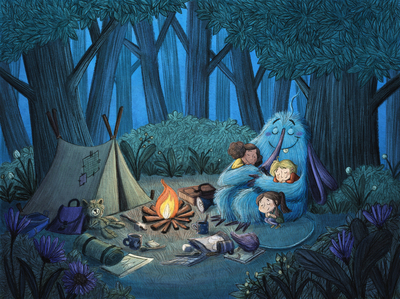 forest-night-camping-monster-kids-jpg