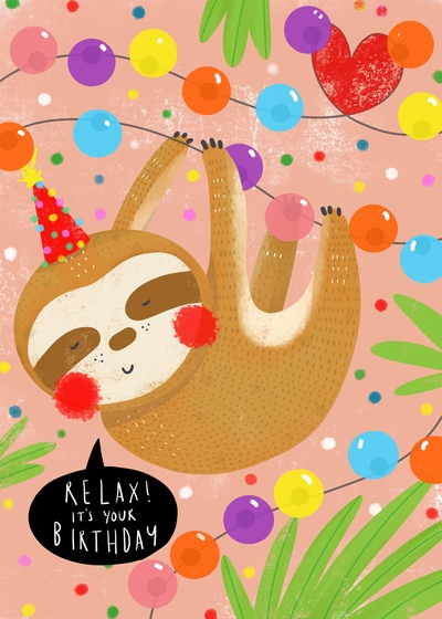 relax-birthday-sloth