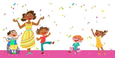 teacher-children-confetti