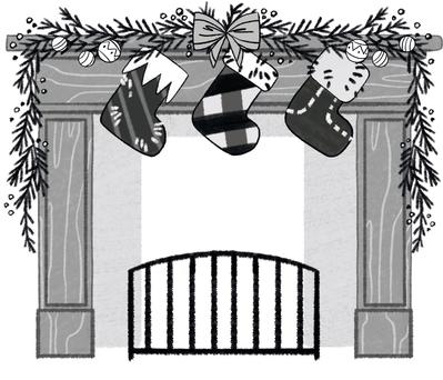 fireplace-christmas