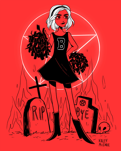 sabrina-witch-demon-skull-pentagram-red-black-tombstones-graves-jpg