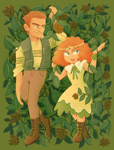 man-girl-father-daughter-pistachio-leaves-jpg
