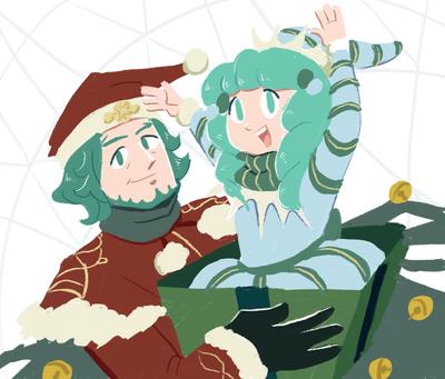 fire-emblem-seteth-flayn-santa-elf-christmas-present-jpg