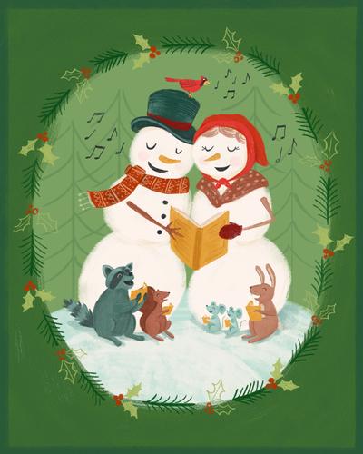 christmas-snowman-animals-woodland-caroling-jpg
