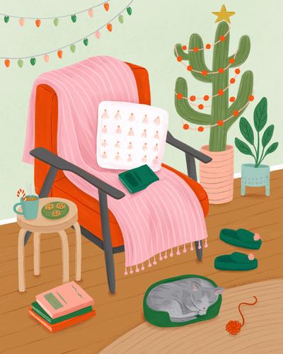 chritmas-chair-interior-tree-cactus-cat-cozy-jpg
