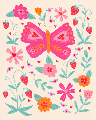 val-butterfly-flowers-strawberries-hearts-jpg