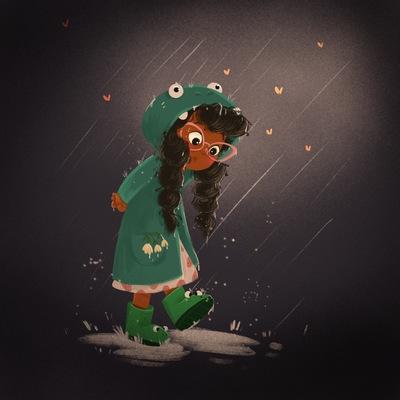 girl-under-the-rain
