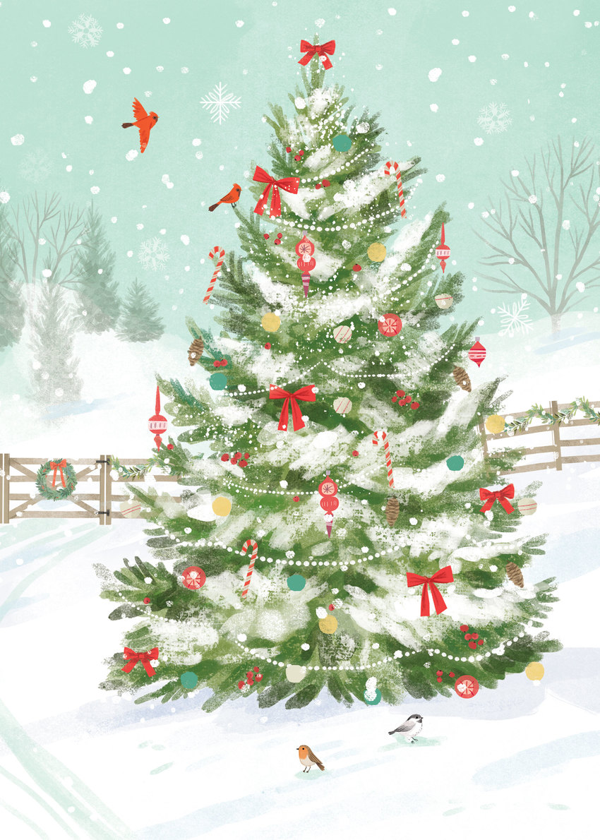 Albero Di Natale 852 Bambini.Kathryn Selbert Advocate Art